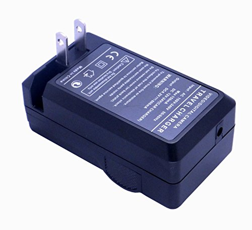 Home / Travel Charger with Car Adapter for Fuji NP-60 Camera/Camcorder (Fuji np40, np60, np95, np120, Samson SLB-0837, Panasonic S004E, Kodak K5001) by CyberTech by CyberTech (Image #2)