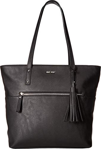 Nine West Womens California Casual Tote Black One Size
