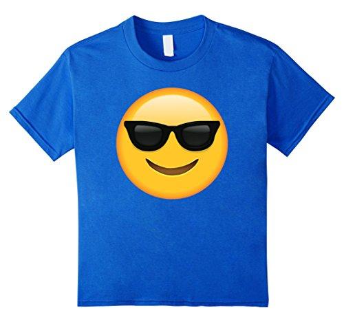 Kids Sun Glasses Emotional Emoji T Shirt 6 Royal - Sunglasses Kids Next