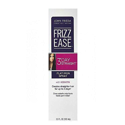 John Frieda Frizz Ease 3-Day Straight Flat Iron Spray 3.5 oz (Pack of 2)