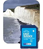 Satmap MapCard: East Sussex (OS 25k, 10k)