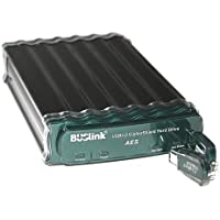 Buslink CSE-6T-SU3 6TB USB 3.0/eSATA CipherShield FIPS 140-2 256-bit AES Hardware Encrypted Desktop External Hard Drive with Heat Dissipating Aluminum Alloy Case