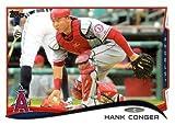 2014 Topps #549 Hank Conger - Los Angeles Angels (Baseball Cards)