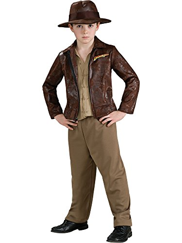 Indiana Jones Child's Deluxe Indiana Jones Costume, Large