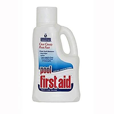 Natural Chemistry 03122 Pool First Aid Clears Cloudy Swimming Pool Water, 3x2-Liters : Garden & Outdoor