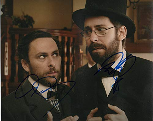 Martin Starr & Charlie Day autographed 8x10 photograph, used for sale  Delivered anywhere in USA