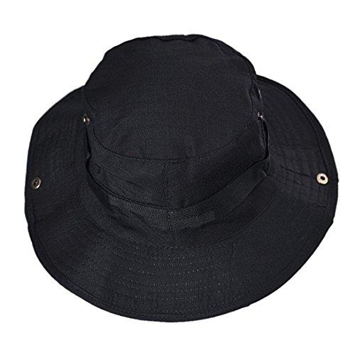 BEAUTYVAN Cap Vintage Hat Boonie Hunting Fishing Outdoor Wide Brim Military Cap (C) ()