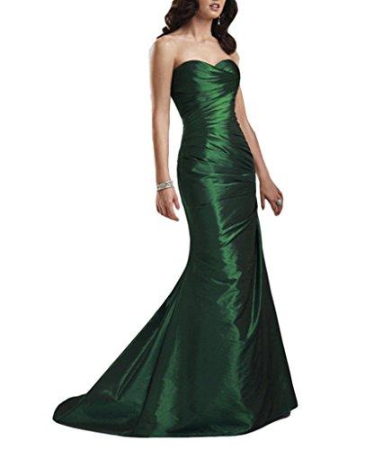 Lang Abendkleider kleidungstücke ärmellos Plissee Green Grün Cocktail emmani Heimkehr New Celebrity Schnürschuh Damen Hochzeit Taft Party Ball Kleider Damen Abend Lila Sexy Weiblich FnRgHxqw5