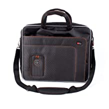 """DURAGADGET High Quality Durable 15.6"""" Laptop Briefcase With Padded Shoulder Strap & Multiple Compartments for Asus ROG G551JM-CN102H 