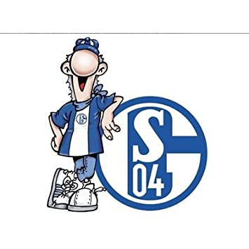 alenio 9872 - alenio Wandtattoo - FC Schalke 04 Erwin Signet, 40x40 ...