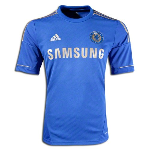 Adidas Chelsea Home Jersey - adidas Youth Climacool Chelsea Home Jersey Blue/Gold/Small