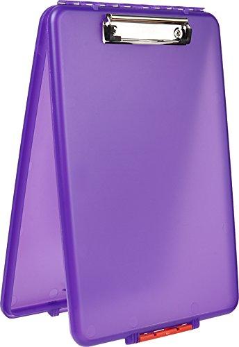 Dexas Slimcase Storage Clipboard, Purple ()
