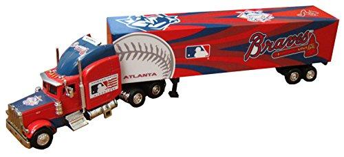 Atlanta Braves 2006 MLB Peterbilt Tractor Trailer (Deck Peterbilt Tractor Upper Trailer)
