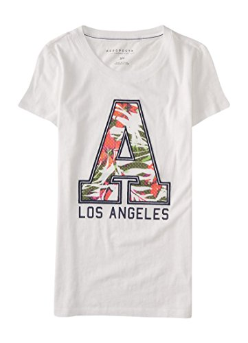 Aeropostale Womens Angeles Graphic Shirt