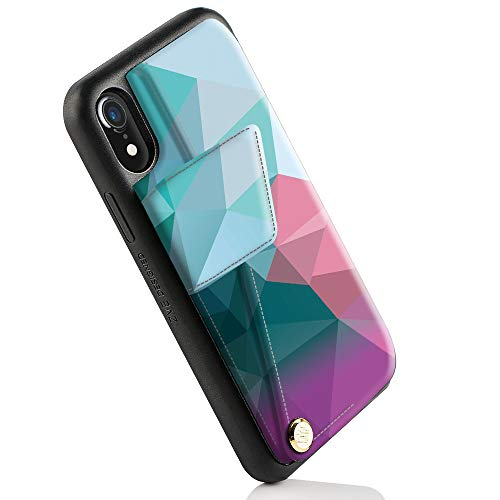iPhone XR Wallet Case, iPhone XR Card Holder Case, ZVEdeng Printed Design Case with Credit Card Holder Money Pocket, Durable and Slim Leather Case for iPhone XR(6.1inch)-Mixcolor (Best Credit Cards With Cash Back Offers)