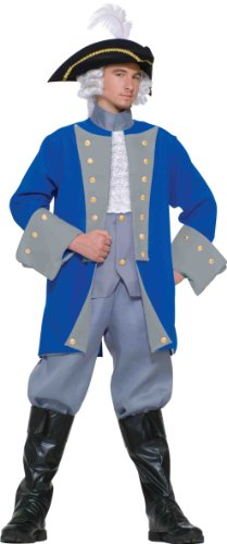 Colonial General Adult Costume Standard Size (Colonial Soldier Costume)
