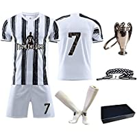 New #7 Soccer Jersey Kids Youth Football Shirt with Socks Birthday Gift for Boys Girls i love this game
