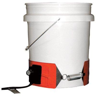 BriskHeat Plastic Drum Heater - 5-Gallon, 150 Watt, 240 Volt, Model# DPCS20