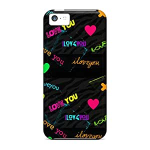 Fashionable Style Cases Covers Skin For Iphone 5c- Love You