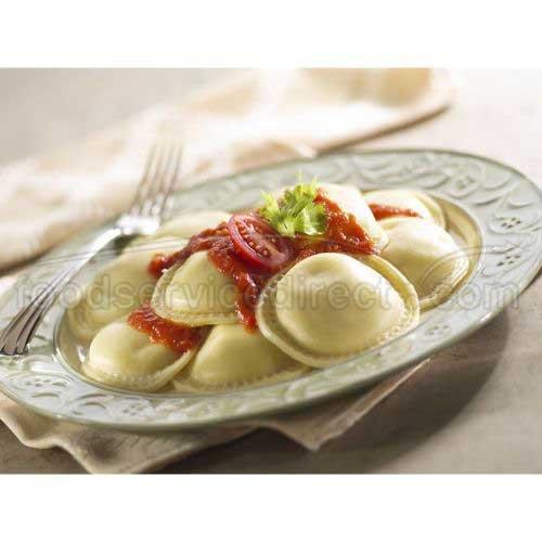 Rosina Food Celentano Large Meat Ravioli Pasta - Round, 22 Ounce -- 12 per case. by Rosina Food