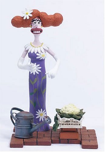 Wallace and Gromit and The Curse of The Were Rabbit Lady Tottington Action Figure by Mcfarlane Toys