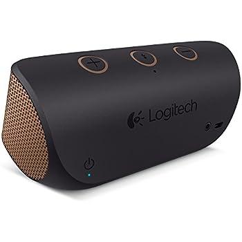 4903480f8c6 Logitech X300 Portable Mobile Bluetooth Wireless Speaker - Black & Copper
