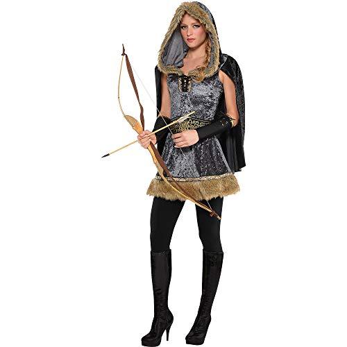 amscan Adult Skilled Archer Costume - Large (10-12),