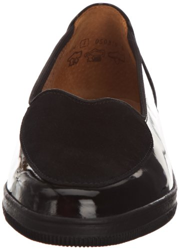 Black Loafers Blanche Women's Patent 404 Gabor Suede IqgC8xwnx