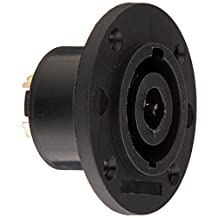 Seismic Audio-Speakon Panel Mount Connector-8 Pole-Requires G Size Panel Mounting Holes-Jack Plate Connector