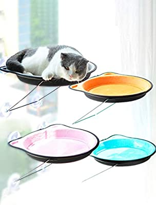 DMINFLOFFM Cristal Colgando de la Arena para Gatos Gato ...