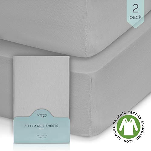 Natemia Fitted Crib Sheets Hypoallergenic
