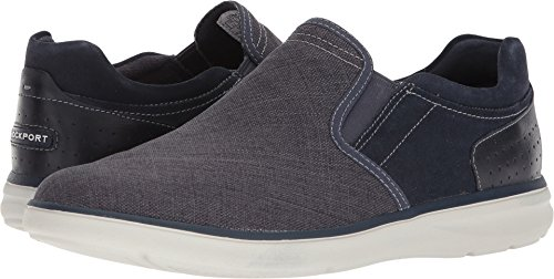 Rockport Men's Zaden Gore Slip On Shoe, Navy, 13 W US -
