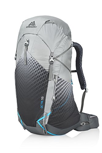 Gregory Mountain Products Women's Octal 55 Liter Ultralight Multi-Day Hiking Backpack | Backpacking, Hiking, Travel | Full-Featured Ultralight Construction, Raincover Included, Durable Strap System