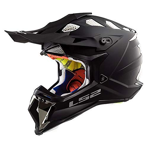 LS2 Helmets Motorcycle & Powersports Helmet's Off-Road Subverter (Matte Black, XX-Large)
