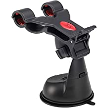 Gwogo® Car Windshield Mount Stand Holder-Compatible with All Smartphones, including IPhone 4, 4S, 5, 5S, 5C 6,6S- Samsung Galaxy S3, S4, S5 - Galaxy Note 2, 3 - LG, G2 - Motorola Moto X Droid HTC One, Nexus 6