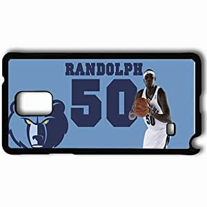 Personalized Samsung Note 4 Cell phone Case/Cover Skin 15035 grizz 1 Black