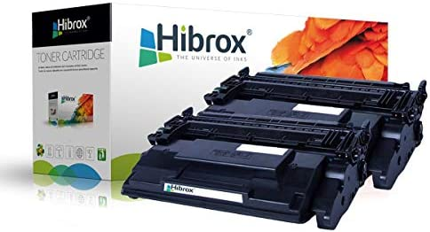 Pack 2Pcs Hibrox Toner Compatible HP CF228X 28X pour HP LaserJet ...