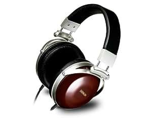Denon AH-D7000 auricular - Auriculares (Madera, Supraaural, 5 - 45000 Hz, Neodimio, Alámbrico, Oro)