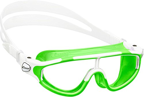 Cressi Baloo, clear/lime, clear lens