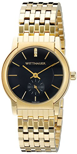 Wittnauer Womens WN4049 16mm Stainless Steel Gold Watch Bracelet (Watch Gold Wrist Wittnauer)