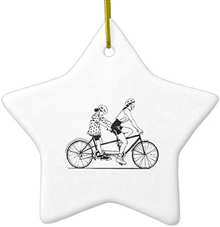 Rutehiy Navidad Adornos tándem para Bicicleta Ciclismo Deporte ...