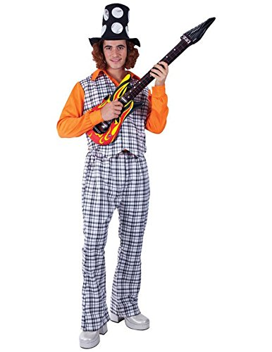 Orion Costumes Mens Bangin' Man Noddy Holder 70s Glam Rock (Noddy Holder Costume)