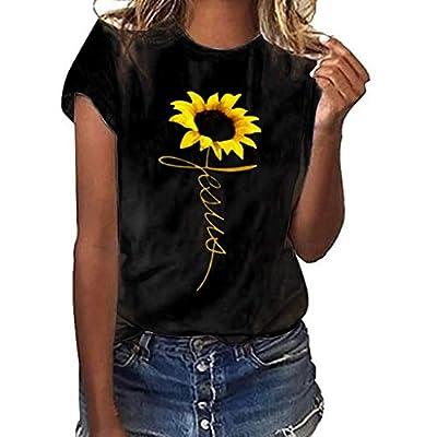 Plus Size Sunflower Printed