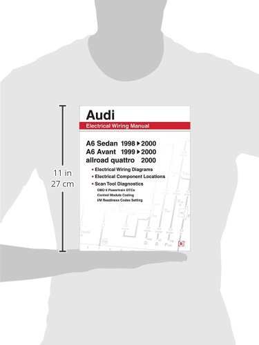 Audi A6 Electrical Wiring Manual: A6 Sedan 1998-2000 A6 Avant 1999  Audi Allroad Wiring Diagrams on 2013 audi beetle, 2013 audi a4, 2013 audi rs4 avant, 2013 audi a7, 2013 audi a8, 2013 audi q5, 2013 audi q7, 2013 audi a2, 2013 audi q3, 2013 audi s5, 2013 audi tt, 2013 audi a3, 2013 audi s4, 2013 audi s8, 2013 audi rs5, 2013 audi rs6, 2013 audi s6, 2013 audi a8l, 2013 audi a5, 2013 audi r8,