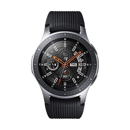 chollos oferta descuentos barato Samsung Galaxy Watch Reloj inteligente LTE 46 mm color plata Version española