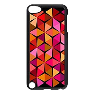 Diamond Pattern Customized Hard Plastic Cover Case fits iPod Touch 5th ipod5-linda55