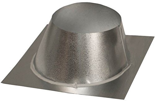 Comfort Flame V6F-8DM Roof Flashing Wood Burning Fireplace, 0 to 6/12 Pitch