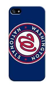 LarryToliver Cool Design iphone 5/5s Customizable Baseball Washington Nationals Case Cover for Best Gift for Men