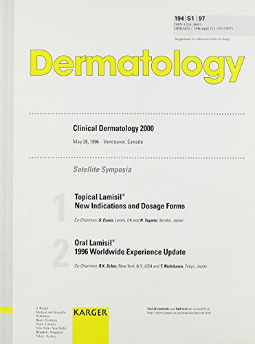 Clinical Dermatology 2000: Topical Lamisil - New Indications and Dosage Forms Oral Lamisil - 1996 Worldwide Experience Update Satellite Symposia, Vancouver, May 1996