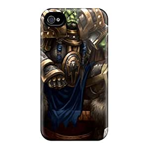 DaMMeke Premium Protective Hard Case For Iphone 4/4s- Nice Design - World Of Warcraft